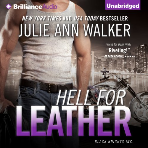 Hell for Leather audiobook cover art