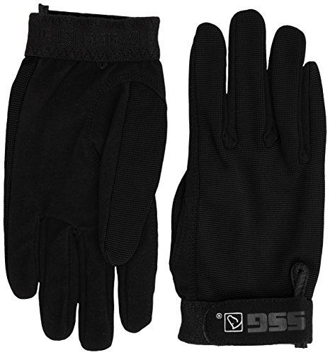 SSG All Weather Riding Gloves Mens Large Black/Black