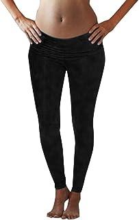 Vetements De Grossesse Pas Cher Walaka Femme D/éContract/éE Stretch Pantalon Maternit/é Enceinte Grossesse Haute Taille Couvrant Le Ventre Pants Workwear