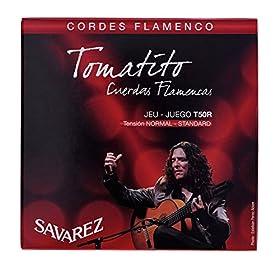 CUERDAS GUITARRA FLAMENCA - Savarez (T50R) Tomatito Tension Normal (Juego Completo) CUERDAS GUITARRA FLAMENCA Savarez T-50R