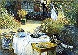 Gioco di Puzzle Classico Carta Puzzle 2000 Oil pezzo quadro di Monet Giochi di Puzzles unico di intrattenimento DIY gioca for il regalo creativo decorazione domestica Robusto e facile