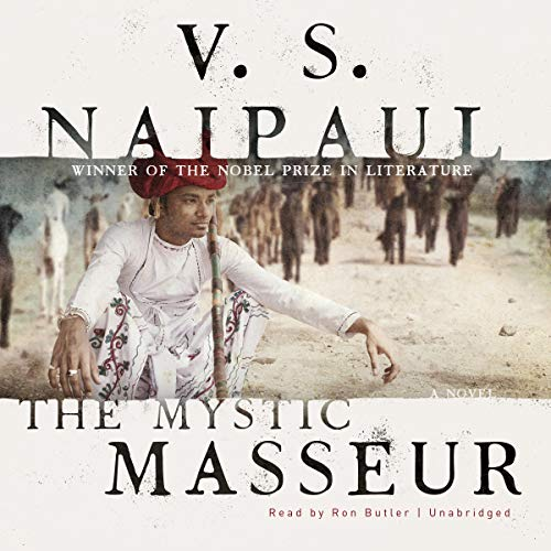 The Mystic Masseur audiobook cover art