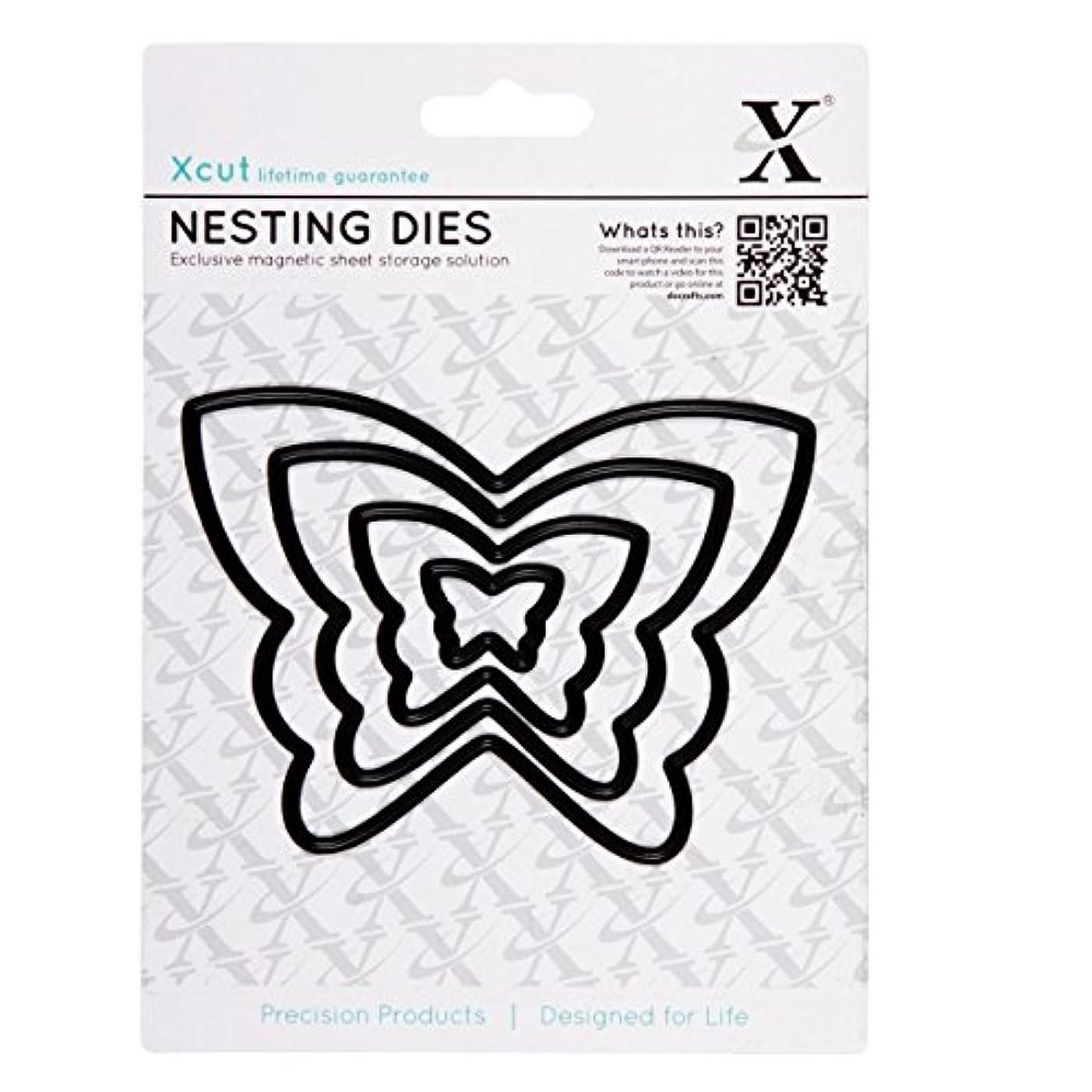 DOCrafts X-Cut Nesting Dies, Butterflies