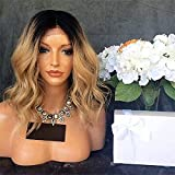 Hair Styling Wigs, Human Hair Lace Front Wig Style Brazilian Hair Body Wave Wig 130% Density with Baby Hair 100% Virgin Women's Length Human Hair Lace Wig for Cosplay Party Daily Use