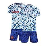 ZYWCXM Jersey de fútbol para niños para Hombre Adecuado para Pogba 6# Jersey, Versión de Fans de Jersey Conjunta Uniforme de Entrenamiento, Jersey de fútbol Personalizable Customization-28