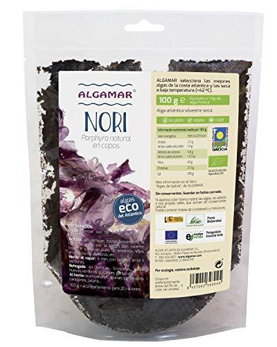 Algas Nori Copos 100 Gr de Algamar