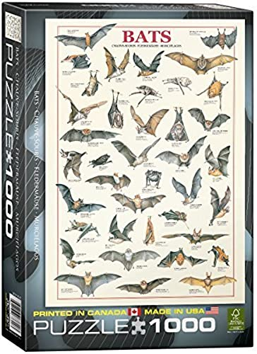 Eurographics Bats Puzzle (1000 Pieces) by Eurographics