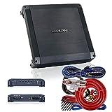 Alpine PK BBX-T600 BBX Series 600W 2-Ohm Stable 2 Channel Class A/B Amplifier - BBX Series 2-ohm Stable 2 Channel Class A/B Amplifier - DC-DC PWM Power Supply + 4 Gauge Amp Kit