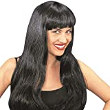 Fashion Black Wig for Hair Accessory Fancy Dress...