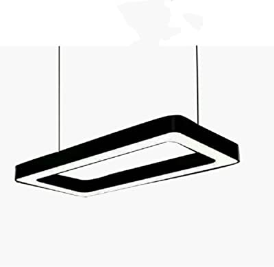 Amazon.com: CCSUN LED Lámpara de araña rectangular, lámpara ...