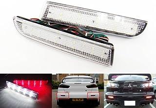 Lopbinte 2 Pezzi Car LED Lampadina Segnale di Direzione 3030 27Smd T15 Luce di Retromarcia Decodifica Luce Freno Lampadina di Ricambio per Auto Lampadina Luce Posteriore Bianco e Nero