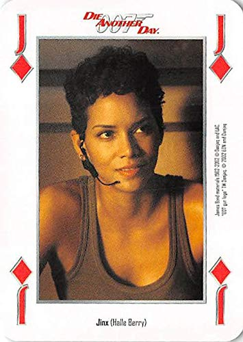 Halle Berry as Jinx trading card gaming 007 James Bond Die Another Day #JD