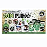Ardisle Gin Pong Kit Party Game Cups Palline Gin Fling Beer Adulti Ping Xmas Gift Secret Occhiali da Babbo Natale Regalo per lei Secret Santa Collega amico Ladies Novità Fun Girlfriends Womens Wifes