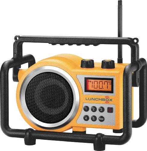 Sangean LB-100 Ultra Rugged Compact AM / FM Radio Yellow