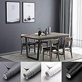 KINLO - Papel pintado para muebles, mate, 0,61 x 5 m, resistente al agua, adhesivo de PVC, autoadhesivo, sin olor, resistente a los arañazos, para pared, cocina, muebles y habitación