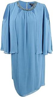 فستان رداء قصير قصير للنساء مقاس كبير من S.L. Fashions