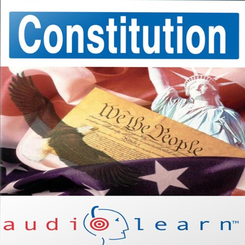 The Constitution AudioLearn Study Guide audiobook cover art