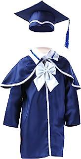 KESYOO Preschool and Kindergarten Graduation Cap and Gown with Tassel 2020 Graduation Gown for Kids Children Navy Blue 120cm