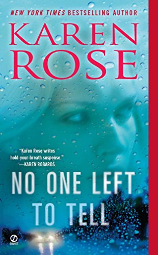 No One Left to Tell (The Baltimore Series, Band 2)