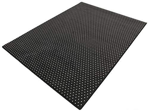 HEVO Vorwerk Bijou Petticoat schwarz Teppich | Kinderteppich | Spielteppich 200x300 cm Sonderedition