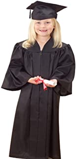 US Toy OD304 Black Graduation Cap and Gown Set
