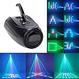 UKing Etapa Lámpara RGBW 64 Led Proyector de Imagen Pequeña Luces del Dirigible Control de Voz Efecto de Iluminación para Fiesta de Aniversario Disco DJ