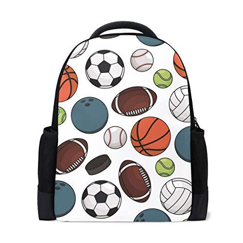 Mochila escolar, fútbol, baloncesto, béisbol, colegio, hombros, bolsas de la escuela, libros, mochila para niños y niñas