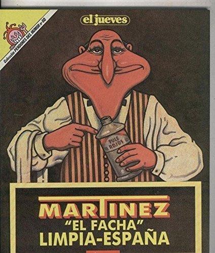 Coleccion Pendones del Humor numero 060: Martinez el Facha: El facha limpia...