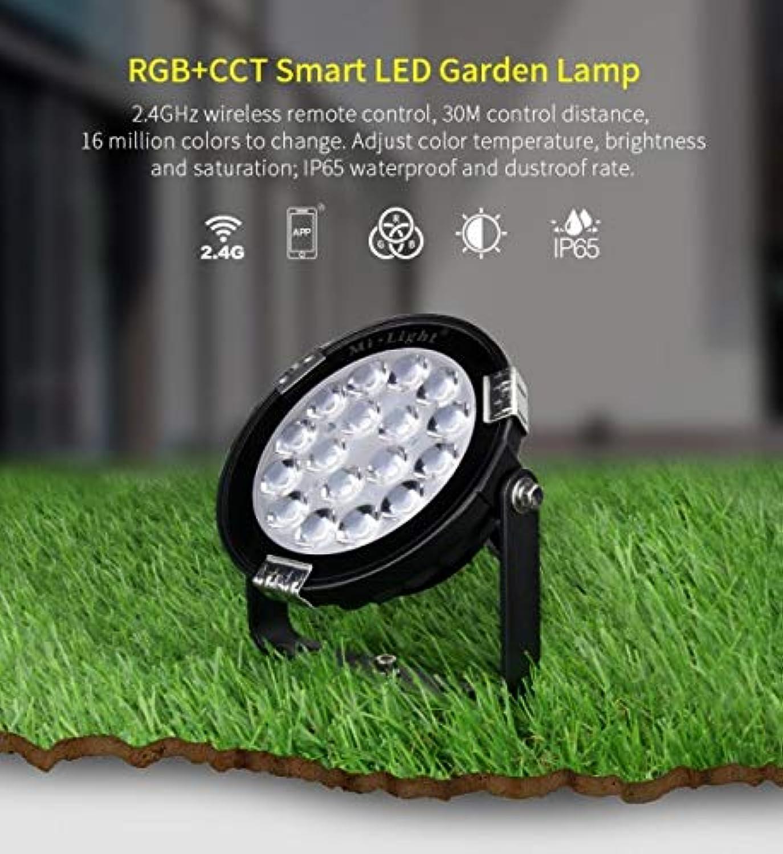 MiLight LED-Auenleuchte RGB+CCT 9W 230V IP65 steuerbar über Funk WLAN WiFi