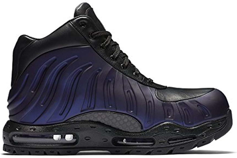 Nike Mens Air Max Foamdome Boots Varsity Purple Black (6.5)