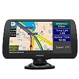 GPS Voiture GPS Poids Lourds de 9 Pouces Écran HD Couvrant 48 Pays en Europe avec Bluetooth et Caméra de recul pour Voitures et Camions