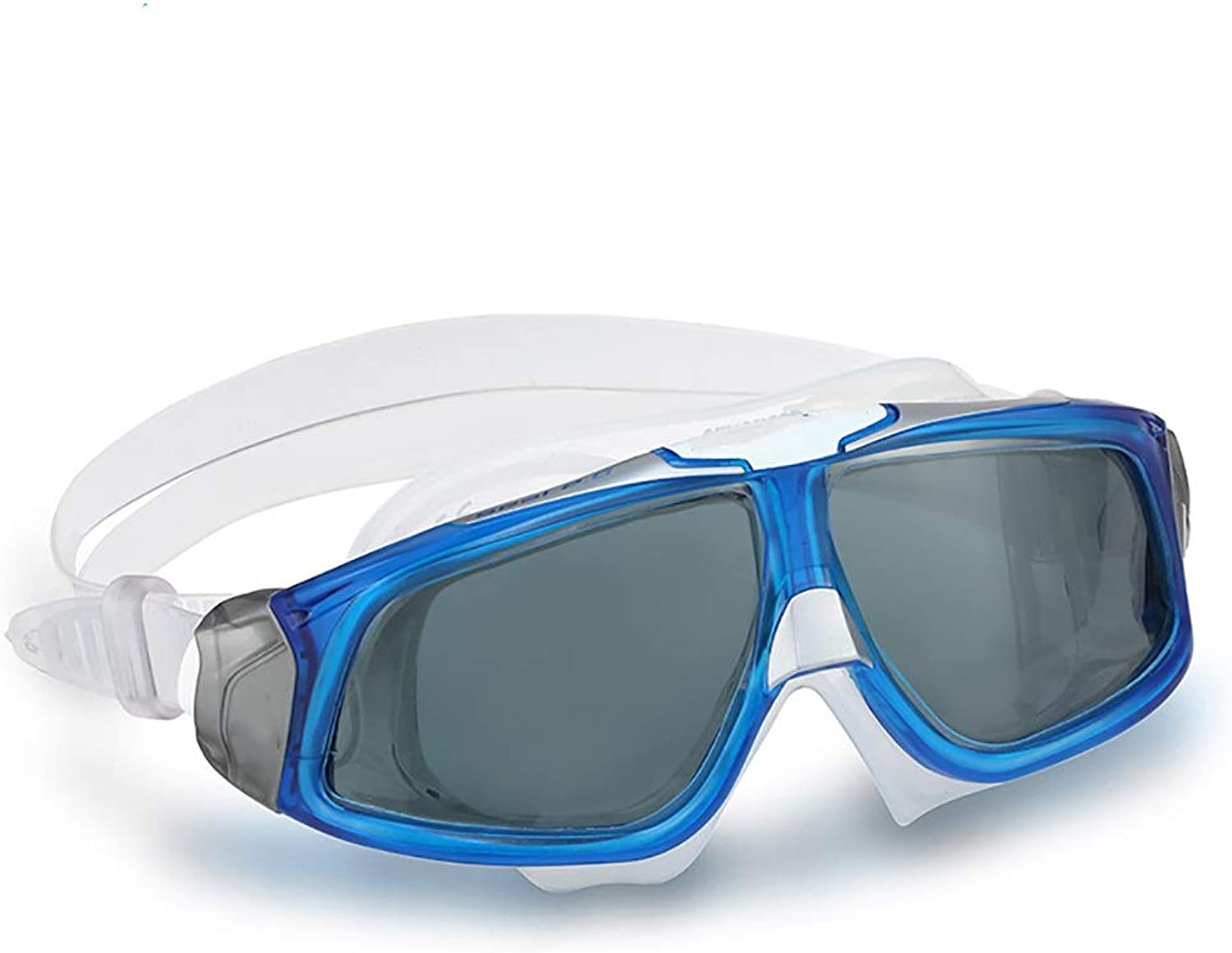 GUOQING Swimming GogglesWide View Swimming Goggle Anti Fog UV Predection Leaking Glasses for Adult Men Women Youth Kids