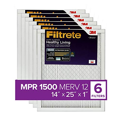 3m air filters 14x14x1 - 9