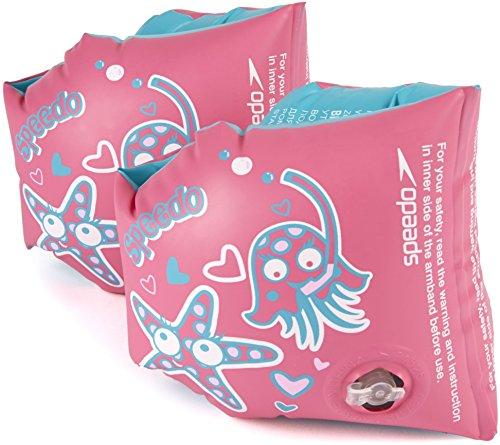 Speedo Sea Squad Armbands Accessoires, Rosa, Einheitsgröße