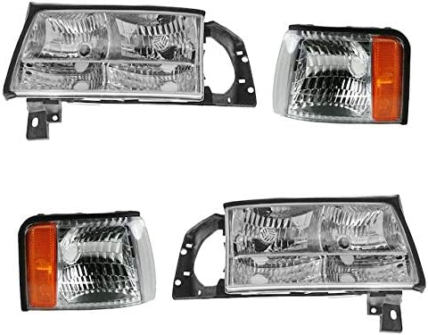 Headlight Cheap mail order shopping and Cornering In stock Light Kit - 4 19 with Piece Compatible