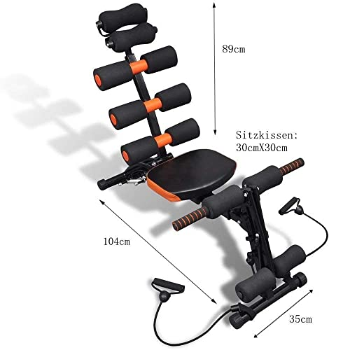 Ozoy 6 Pack Abs Exerciser Machine with 20 Different Modes