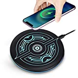 Magic Wireless Charger, Ultra Slim Wireless Charger, Magic Array Universal Wireless Charging Pad for iPhone 12/11 Pro/Max/Xs Max/XR/XS/X/8/8 Plus, Samsung S20/S10/S9/S8/Note 10(Adapter NOT Included)