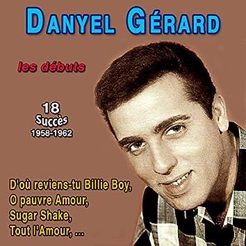 Danyel Gérard les débuts - when (18 Succès 1958-1962)