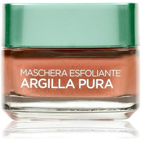 L'Oréal Paris Maschera Viso Esfoliante Argilla Pura, 50ml