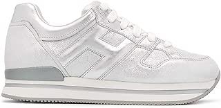 Hogan Luxury Fashion Womens HXW2220T548N0MB200 Silver Sneakers |
