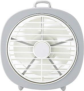 Outgeek Desktop Fan USB Rechargeable Personal Electric Fan for Office Home