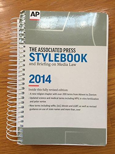 Associated Press Stylebook 2014