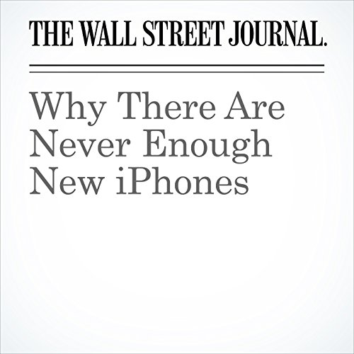 Why There Are Never Enough New iPhones copertina