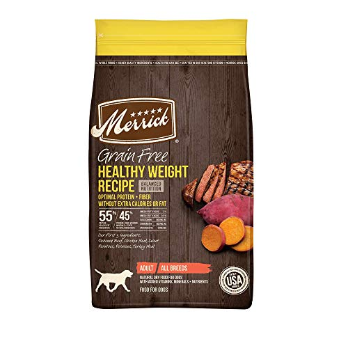 Merrick Grain Free Dry Dog Food Healthy Weight Recipe - 22.0 lb Bag ( Packaging May Vary )