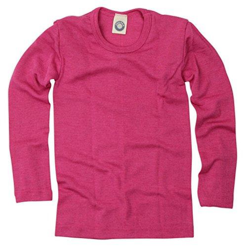 Cosilana Kinder Unterhemd Größe 140 in Pep-Pink - Verkauf von Wollbody