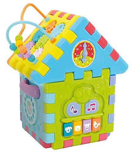 Lisciani Giochi- Carotina Baby Casetta Mille attività Gioco Educativo, Multicolore, 76581