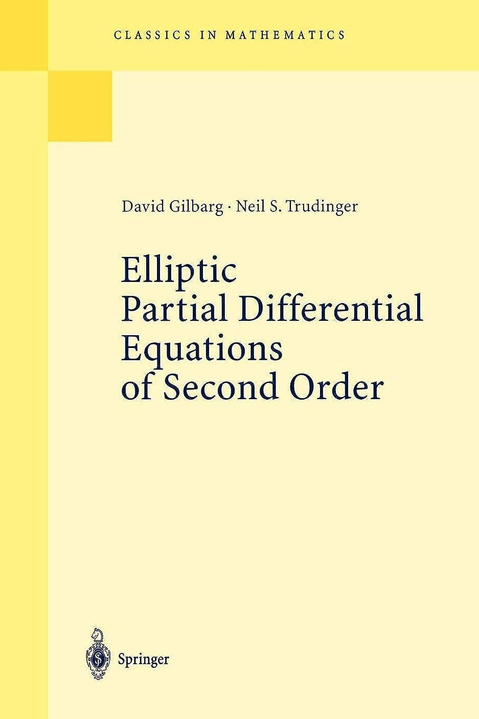 小間スポットトーストElliptic Partial Differential Equations of Second Order (Classics in Mathematics)