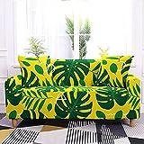 WXQY Sala de Estar Funda de sofá elástica con Estampado Floral Todo Incluido Funda de sofá de Esquina en Forma de L Funda de sillón Funda de sofá A2 1 Plaza