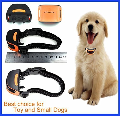 ULTIMATE 665 Miniature (VIBRATION) No Bark Dog Collar ( Extra Small Toy Dogs 4lbs to 10lbs) Bark Training Solution. Best Anti Bark Collar (NEW CHIP 2018) 100% Lifetime Product Warranty