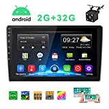 Double Din Car Stereo Android Car Radio with 9'' HD...